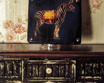 Circus Zebra Sign Dollhouse Miniature  1/12 Scale 17049