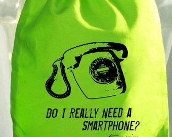 Do I really need a Smartphone? - bag - rucksack