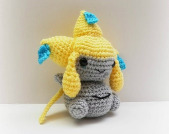 Crochet Jirachi Inspired Chibi Pokemon
