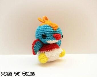 Crochet Hawlucha Inspired Chibi Pokemon