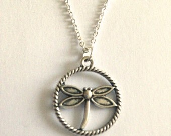 Dragonflies and Creepy Crawlies Silver Charm Pendant Necklaces