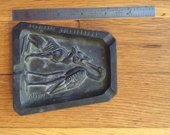 Aesop's Fable Ash Tray 1920's French Feron