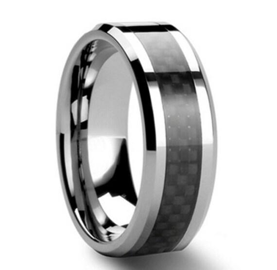 Stunning 8mm Solid Tungsten Carbide (cobalt Free) For Men