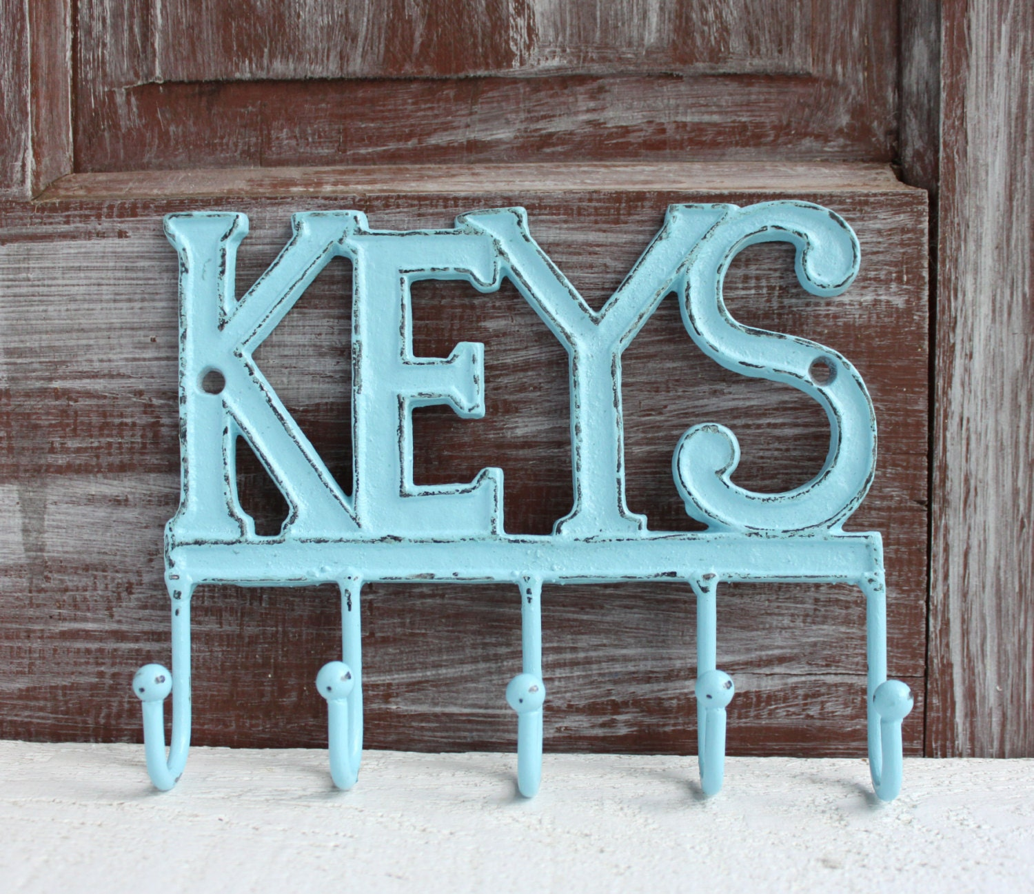 Wall Key Holder Metal Key Hanger Decorative Key Rack Cast