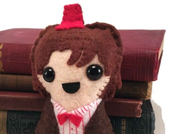 11th Doctor - Matt Smith - Dr Who plushie