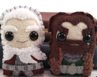 Thorin and Balin plushies