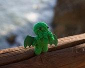 Cthulhu amigurumi - cthulhu plush - cthulhu handmade - cthulhu crochet - cthulhu stuffed - cthulhu doll - cthulhu art - Amigurumi Cthulhu