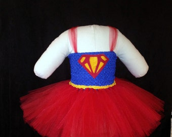 Super Girl / Super Hero Tutu Costume