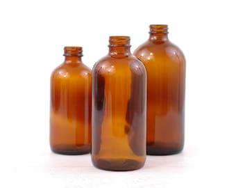 Apothecary Jars Halloween Decor Amber Apothecary Bottles Graduated Brown Glass Medicine Jars Set Of 3 Drug Store Bottles Vintage Pharmacy