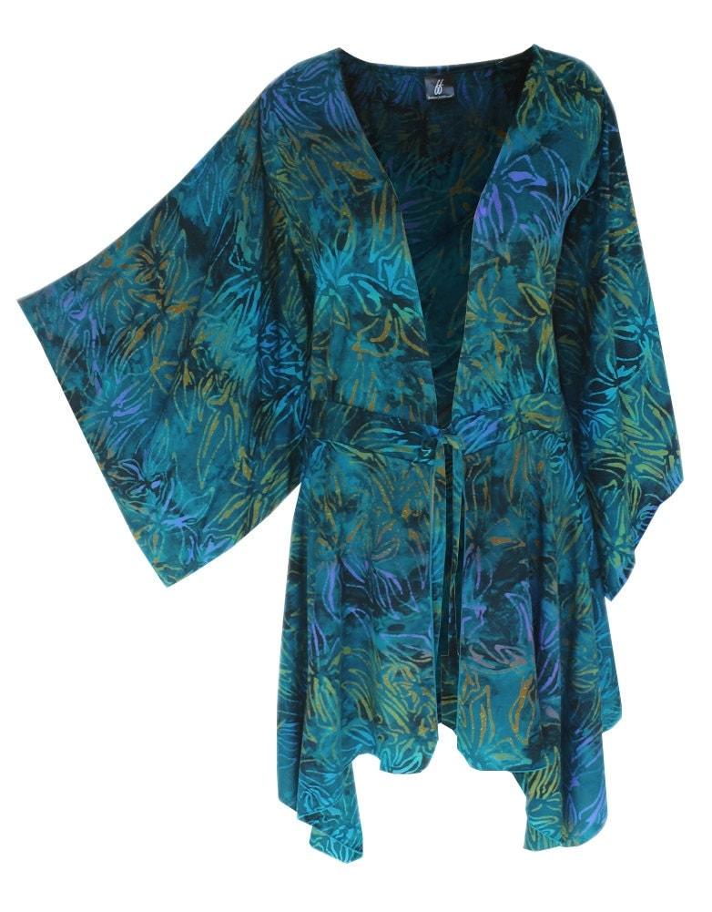 Boho Kimono Plus Size Clothing With A Tunic Kimono Sleeve