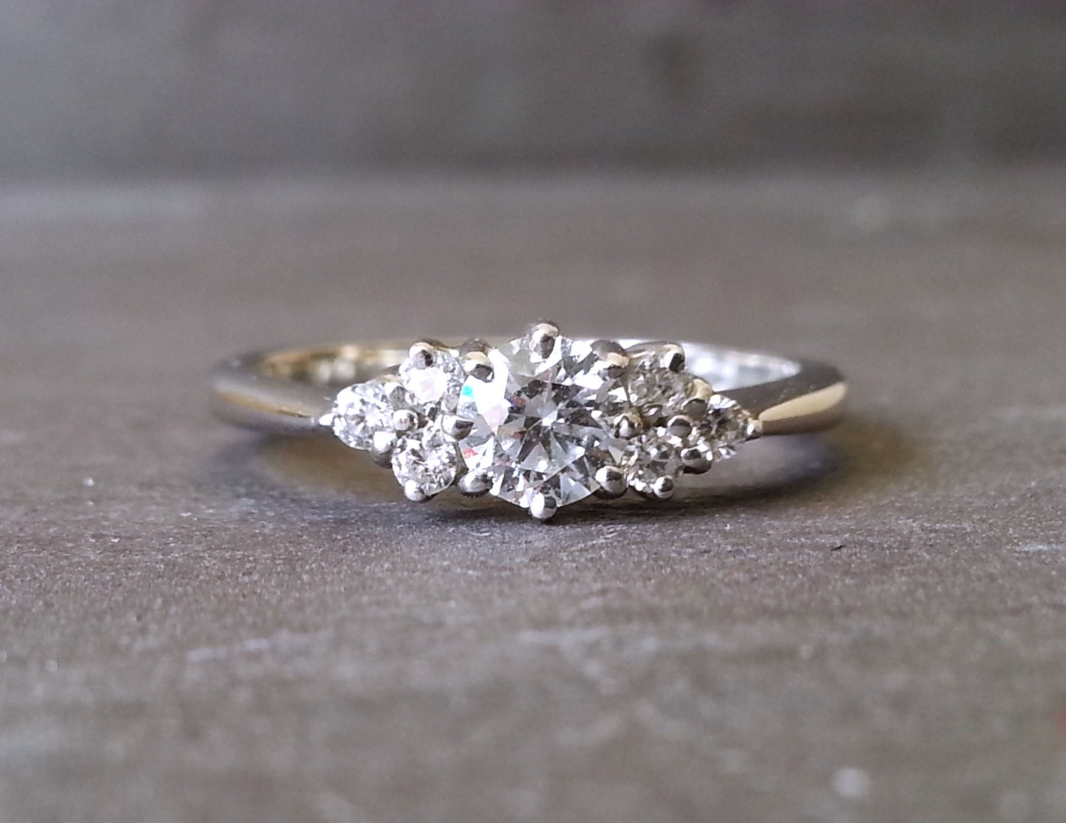 thin trilogy engagement ring knife by arahjames