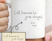 Handwritten Keepsake Mug