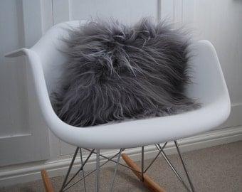 Grey Icelandic Cushion pure luxury pillow scatter cusion scandinavian home Decor