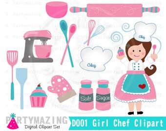 Cooking clipart etsy - Kawaii kochen ...