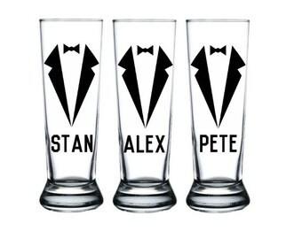 Personalized Groomsmen Mugs, Groomsmen Beer Mugs, Grooms Mug, Groomsmen Gift, Best Man Gift