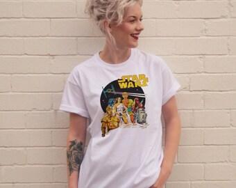 Vintage Style Star Wars t-shirt