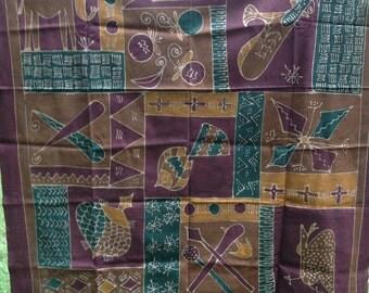 African Batik Art - Extra Large - 2