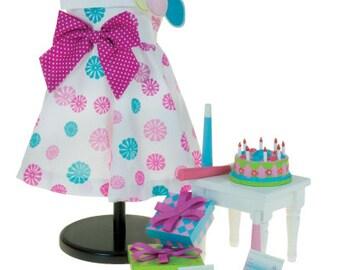 Birthday Bash set for 18 inch dolls