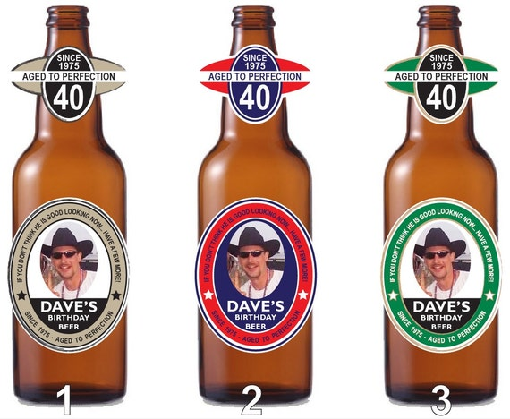 Personalized Beer Bottle Labels Party Favor Waterproof Labels