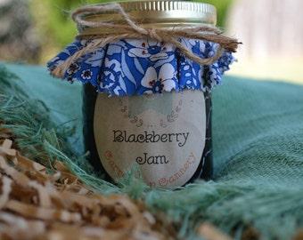 Blackberry Jam- 8 ounce