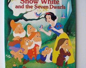 SUMMER SALE! Snow White and the Seven Dwarfs Board Book 1987