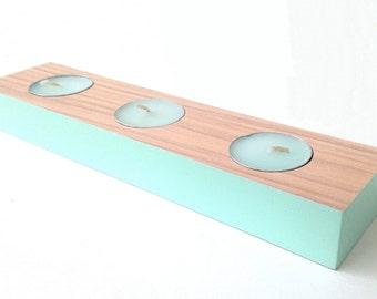 Handmade Triple Tealight Holder