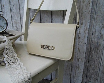 Vintage: lovely sholder bag - handbag from the 80s