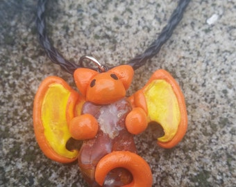 Dragon Guardian of the Stone Necklace