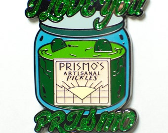 Prismo's Artisanal Pickles Adventure Time Hat Pin