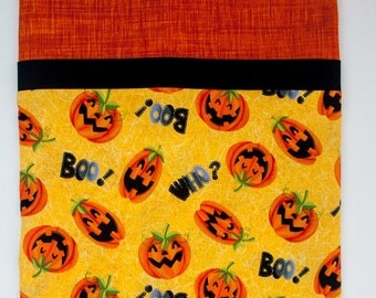 Halloween Jack-o-Lantern Child's Full Size Pillowcase