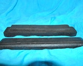 KNIFE SHAPERNER Built into Wooden Case Both top ad Bottom--Very Primitve Antique