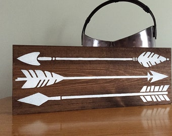 Flying Arrows Wall Decor – Arrow Wall Decor - Wood Wall Decor - Rustic Wall Decor - Farmhouse Decor
