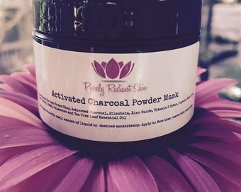 Purely Radiant Activated Charcoal Powder Mask