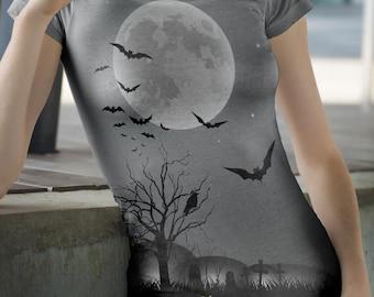 Halloween t-shirts,Happy Halloween t-shirts, Halloween shirts,spooky shirts, Holiday t-shirts,ladies t-shirts,