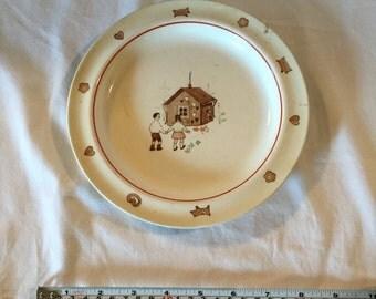 Vintage Arabia Children's Plate
