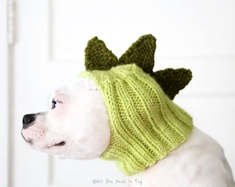 Dinosaur Dog Hat - Pug Hat - Dinosaur Hat - Dog Costume - Dog Clothing - Dinosaur Hat