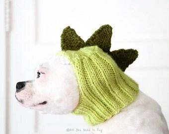 Dinosaur Dog Hat - Dragon Dog Hat - Pug Hat - Dinosaur Hat - Dog Costume - Dog Clothing - Dinosaur Hat
