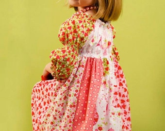 ALLISONCAROL Strip Work PDF Juvie Moon Designs  Boutique Custom Dress E Book Tutorial  Size 3m to 12 free doll dress pattern