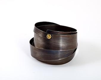 Titanium bracelet, wide bangle bracelet,  modern bracelet, cuff bracelets for women,wide cuff bracelet, cuff bangle bracelet