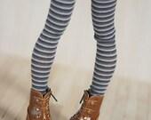 Grey leggings for BJD