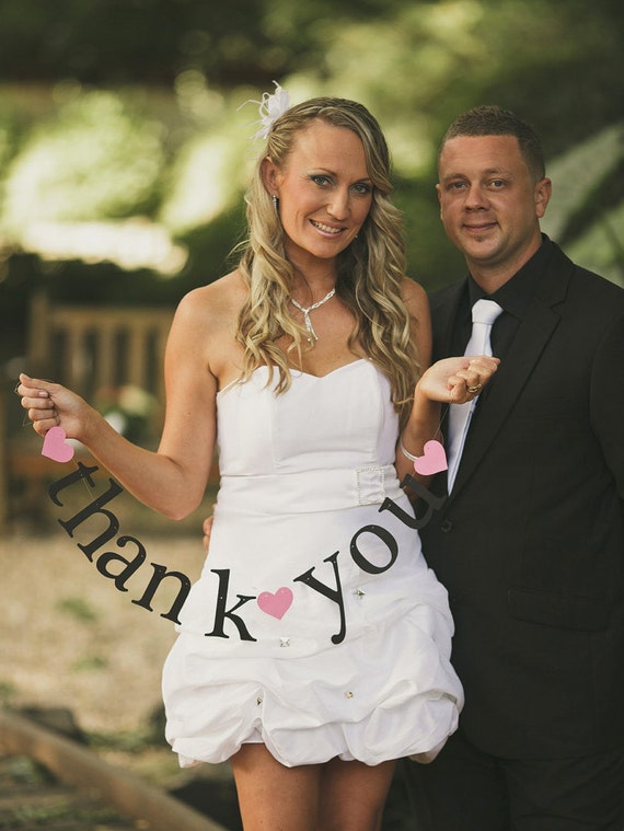 2 Banners.  SHIPS PRIORITY.  thank you AND mr & mrs.  Wedding Decorations.  Photo Prop.  5280 Bliss.