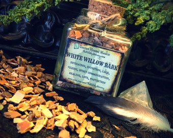 WHITE WILLOW BARK Herb, Herbal Apothecary