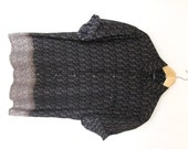 1990s Mens Ombre Shirt Button Down Pattern Print Mens Medium Puritan Made in Korea