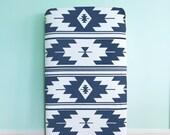 Crib Sheet Navy Kilim. Fitted Crib Sheet. Baby Bedding. Crib Bedding. Minky Crib Sheet. Crib Sheets. Aztec Crib Sheet.
