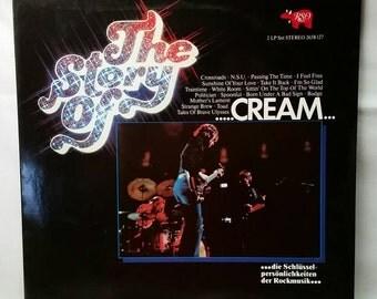 Cream Record - The Story Of Cream - German Vinyl Double LP - 1978