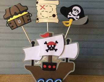 Pirate Centerpiece