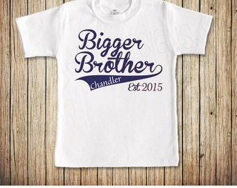 Bigger Brother Shirt, Bigger Brother Tshirt, Big Brother, Little Brother