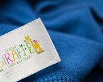 1000 Custom Clothing Labels in Multicolor. Full Color Printed Clothes Labels. Washable Care Labels & Sewing Tags For Clothing. Fabric Labels