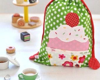 Bag fabric cupcake