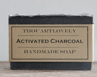 Activated Charcoal | Handmade Soap| ThouArtLovely